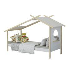 Lits - Lit cabane 90x200 cm NEST