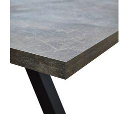 Table de séjour ARTUS Effet pierre