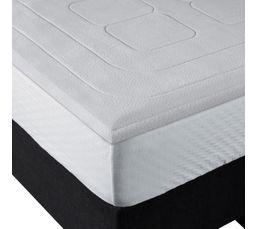 sur matelas 140 x 190 cm bultex memoire de forme sur matelas but. Black Bedroom Furniture Sets. Home Design Ideas