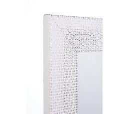 Miroir 43X133 ICY Blanc/Argent