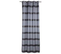 Rideaux - Rideau 140x260 cm BLOUP gris/noir