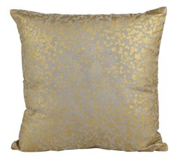 DIFFUSION Coussin 40 x 40 cm or/taupe