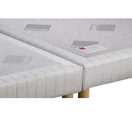 EPEDA Sommier 2 x 80 x 200 cm CONFORT FERME 2