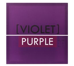 Toiles - Toile 50X50 COLORS Violet