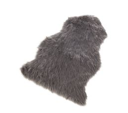 Fausse fourrure 60x90 cm FAUSSE FOURRURE grise