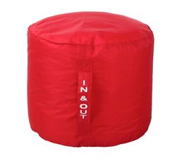 pouf rond d50 x h40 cm tilt rouge poufs poires but. Black Bedroom Furniture Sets. Home Design Ideas
