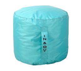 pouf rond d50 x h40 cm tilt bleu poufs poires but. Black Bedroom Furniture Sets. Home Design Ideas