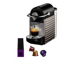 Expresso KRUPS YY1201FD Nespresso PIXIETitane