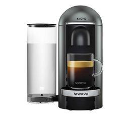 KRUPS Cafetière à dosette Nespresso YY2778FD Vertuo titane