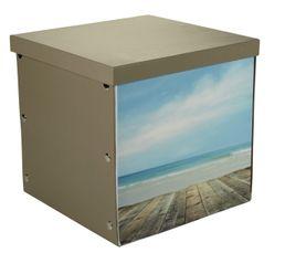 Boites De Rangement - Boîte 31X31X31 cm NATURE Imprimé