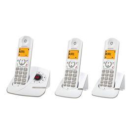 t l phone sans fil r pondeur alcatel f330 voice trio t l phone r sidentiel but. Black Bedroom Furniture Sets. Home Design Ideas
