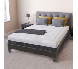 matelas 160x200 cm mousse m moire de forme avec micro capsules de gel dionysos matelas but. Black Bedroom Furniture Sets. Home Design Ideas