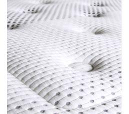 Matelas 160x200 cm mousse + mémoire de forme avec micro capsules de gel DIONYSOS