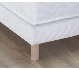 Sommier tapissier avec pieds ESTRELLA 90x190 cm