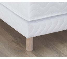 Sommier tapissier avec pieds ESTRELLA 140x190 cm