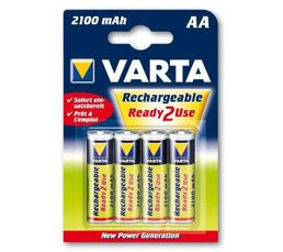 Piles Et Chargeurs - Piles rechargeables VARTA HR6 56706101404 x 4
