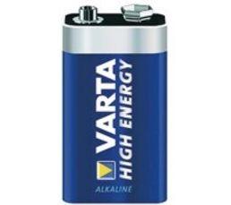 VARTA Piles Alcalines 6LR61 4922121411 x 1