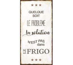 Deco sign 40x20 FRIGO Beige