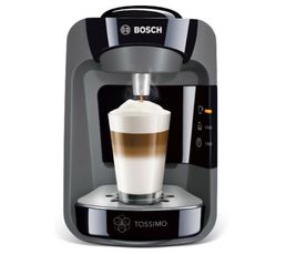 BOSH Machine à dosette Tassimo TAS3702 ALL BLACK