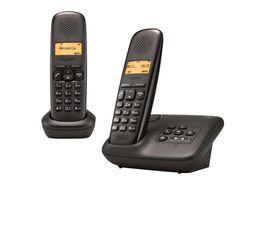 Téléphone Résidentiel - Téléphone sans fil répondeur GIGASET A150A Duo