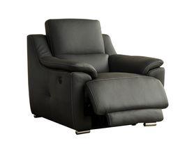 fauteuil relax lectrique vogg cuir cro te cuir gris fonc fauteuils but. Black Bedroom Furniture Sets. Home Design Ideas