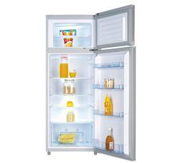 Réfrigérateur 2 portes AYA AFD2001A+S silver