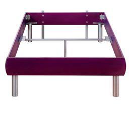 cadre de lit 90 cm shadow 2 violet lits but. Black Bedroom Furniture Sets. Home Design Ideas