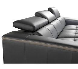 Canapé angle droit SPIRIT Noir