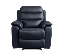 fauteuil relax bobby 2 cuir noir fauteuils but. Black Bedroom Furniture Sets. Home Design Ideas