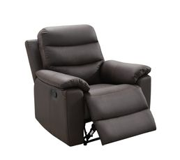 Fauteuil relax BOBBY 2 Cuir Choco