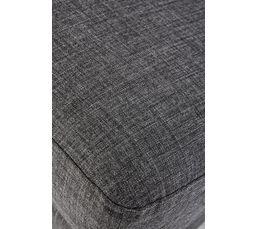 Canapé 3 places MATHIS Tissu gris foncé