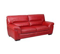 canap rouge pas cher. Black Bedroom Furniture Sets. Home Design Ideas