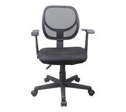 Chaise dactylo WIZZ Noir