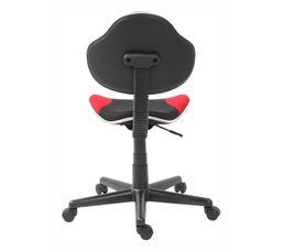 Chaise de bureau NEW FROGGY Rouge/noir