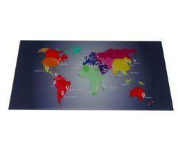 Bureaux - Plateau verre MAP L 120 cm