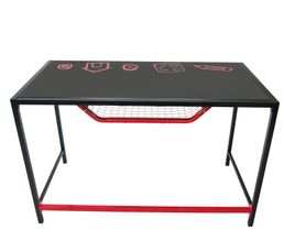 Bureau junior PLAYTIME Noir/rouge