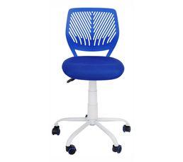 chaise dactylo twitt bleu chaises et fauteuils but. Black Bedroom Furniture Sets. Home Design Ideas