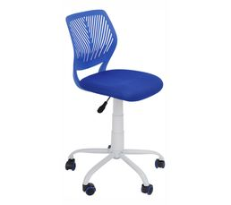 Chaise dactylo TWITT Bleu