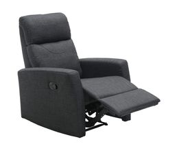 Fauteuil relax MOTION Tissu Gris