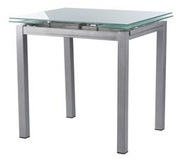 Table verre extensible but for Table de cuisine ikea en verre
