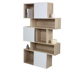 biblioth que et tag re pas cher. Black Bedroom Furniture Sets. Home Design Ideas