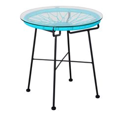 Table basse GARDEN Bleu
