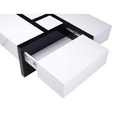 Table basse SQUARE Blanc et noir