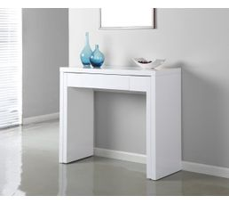 console gigogne sybille blanc tables d 39 appoint et consoles but. Black Bedroom Furniture Sets. Home Design Ideas
