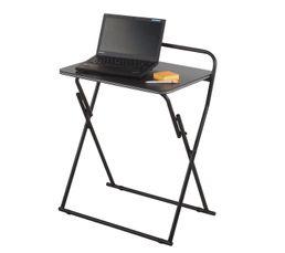 Console informatique lap noir bureaux but - Console informatique but ...