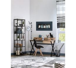 bureau alex imitation ch ne noir bureaux but. Black Bedroom Furniture Sets. Home Design Ideas