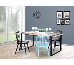 Tables - Table de séjour PARK AVENUE Noir mat