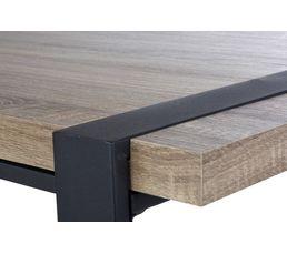 Table de séjour PARK AVENUE Noir mat