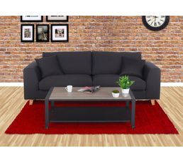 Tables Basses - Table basse PARK AVENUE Noir mat