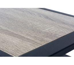 Table basse PARK AVENUE Noir mat